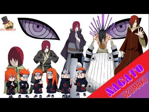 Naruto characters: Uzumaki Nagato's Evolution