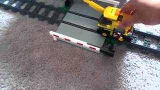 Lego city level crossing review