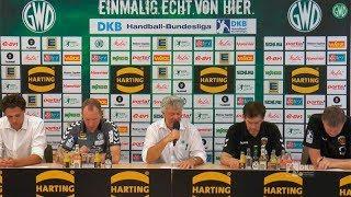 05.06.2017 GWD Minden - Füchse Berlin // Pressekonferenz