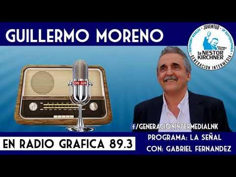 Guillermo Moreno en Radio Grafica FM 89.3 15/01/18