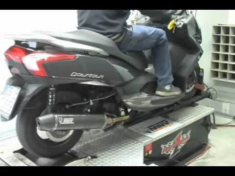 Schema Elettrico Kymco Downtown 300i : Kymco downtown exhaust mivv stronger black stainless steel o