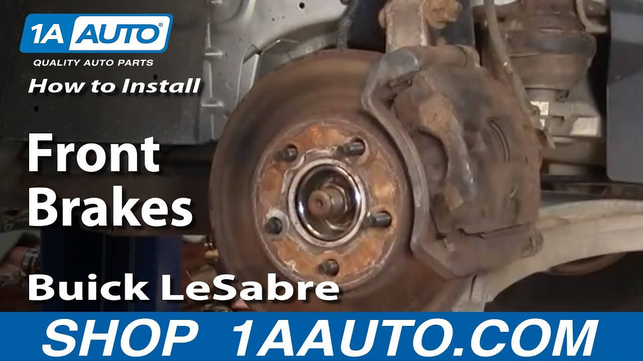 How To Install Replace Front Brakes Buick LeSabre 00-05 ...