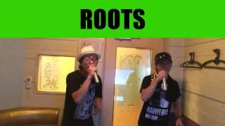 Fire BallのROOTSを カラオケで歌ってみました!!