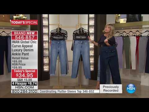 HSN | IMAN Global Chic Fashions 06.10.2017 - 04 AM