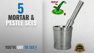 Top 10 Mortar & Pestle Sets [2018]: Online Quality Store Kitchen khalbatta Okhli Masher, Mortar And