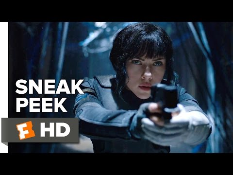 Ghost in the Shell Official Sneak Peek (2017) - Scarlett Johansson Movie