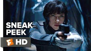 Ghost in the Shell Official Sneak Peek (2017) - Scarlett Johansson Movie