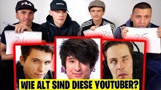 Wie alt sind diese YouTuber? |  mit UnsympathischTV, Shpendi & EinfachPeter