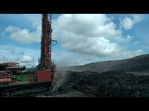 Drill Processing At Coal Mine