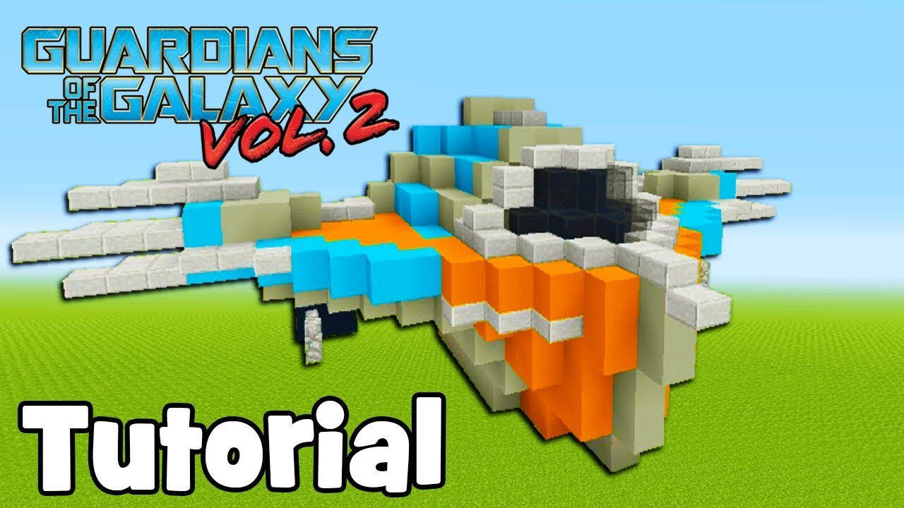Minecraft Tutorial: How To Make Milano Guardians of The Galaxy