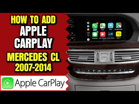 Download Mercedes W216 C217 Cl550 Apple Carplay Android Auto