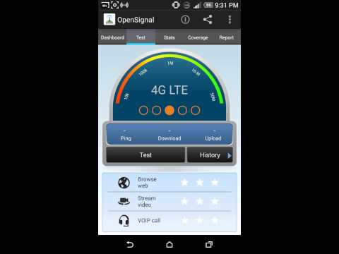 Network Speed test Sprint China