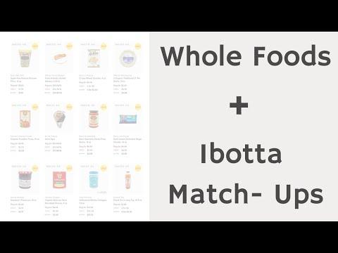 Whole Foods and Ibotta Match-Ups | Printable Coupon | 03/31-04/06