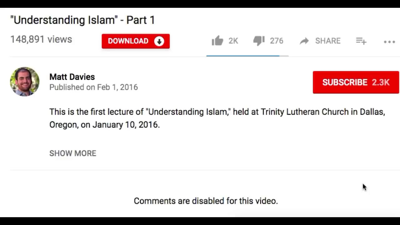 Stop trying to hurt Islam! The message of the hypocrites Matt Davies James  white