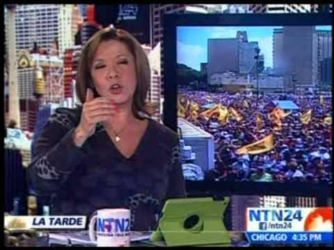Así se despidió NTN24 de la televisión venezolana