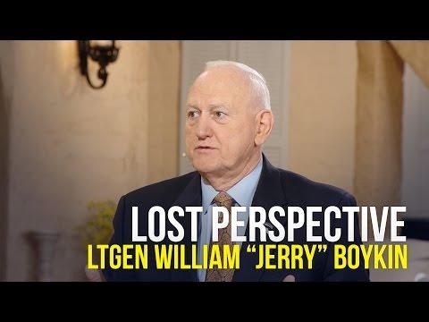 Lost Perspective - Lt. Gen. William Jerry Boykin on The Jim Bakker Show