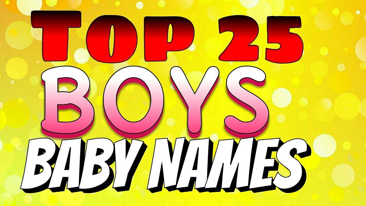 Top 25 Boys Baby Names 2018 Indian Hindu Youtube
