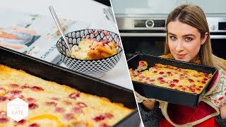 Tested: Chrissy Teigen's: Yellow Cake Baked Oatmeal - In The Kitchen With Kate