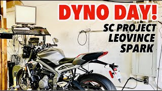 Triumph Street Triple RS Dyno Day Exhaust Shootout [SC Project, LeoVince, Spark]