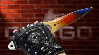 новый Skeleton knife из дерева! CS:GO Как сделать Скелетный нож Fade