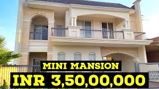 4 bedroom double story villas house with lift and luxury interior and woodwork