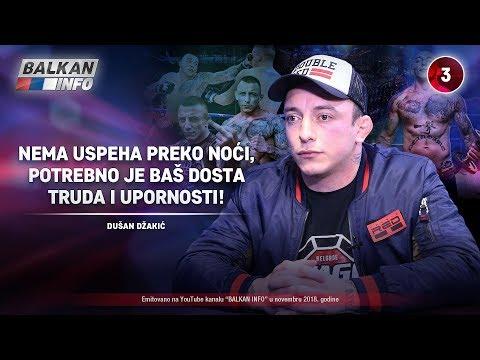 INTERVJU: Dušan Džakić - Nema uspeha preko noći, potrebno je dosta truda i upornosti! (30.11.2018)