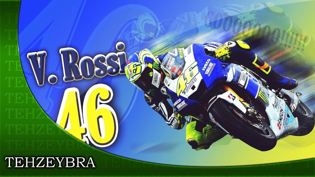 Wallpaper #3 - Valentino Rossi n°46 - YouTube
