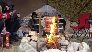 캐나다 캠핑 | 당일치기 바베큐 (feat. 드론 오겹…