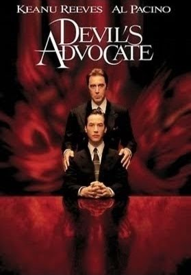 an analysis of the movie the devils advocate with actors keanu reeves and al pacino The devil's advocate starring al pacino keanu reeves rated r 140  minutes you don't go into a movie called the  he's a great actor (the  godfather films, donnie brasco), the ones where he's a bad actor .