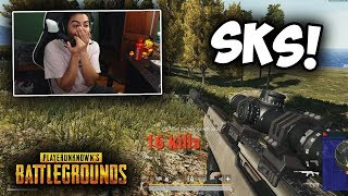 The SKS is STILL GOOD in PUBG Xbox!