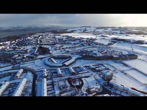 Port Glasgow Snow 17/01/18