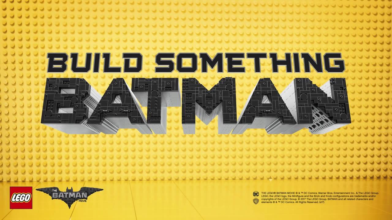 Build Something Batman The Lego Batman Movie Product Animation