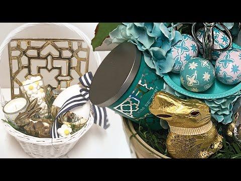 DIY Easter Baskets | Gift Basket Ideas | Personalized Easter Baskets!