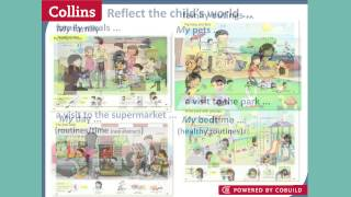 Inspiring young children to enjoy their first experience of English: Collins First English Words Thumbnail
