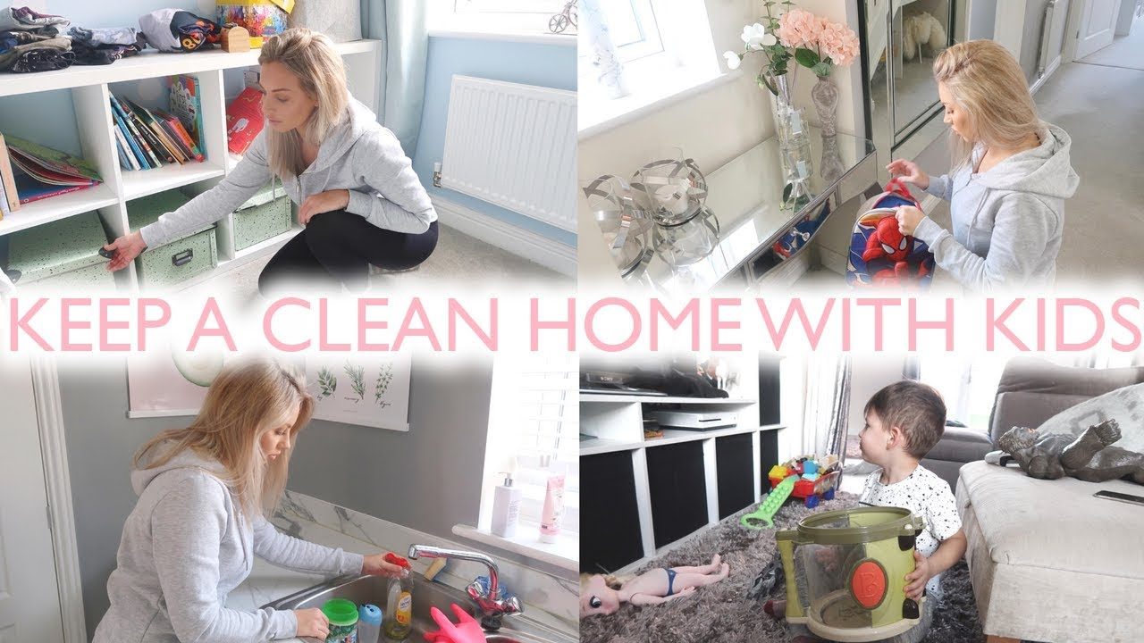 CLEANING TIPS FOR MUMS/MOMS | HOW TO KEEP A CLEAN HOME WITH KIDS ...