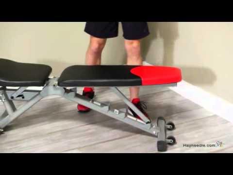 Bowflex Selecttech 4 1 Adjustable Bench Youtube