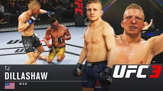 T.J. Dillashaw Can Finish The Job! Incredible Finishes! EA Sports UFC 3 Online Gameplay