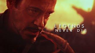 "Tony Stark ""Iron man"" || Legends never die"