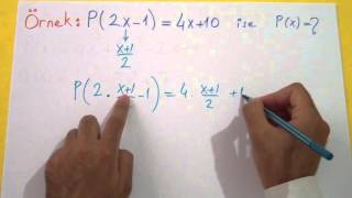 Polinomlar 2 Şenol Hoca Matematik