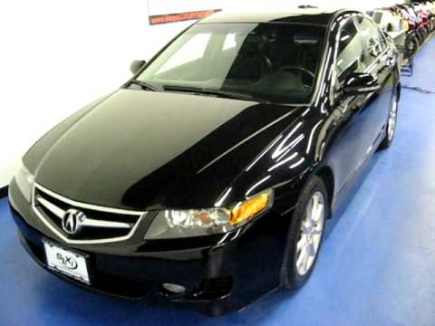 How To Clean Your Headlights >> SLXI CARS FOR SALE: 2007 Acura TSX Black SN830 - YouTube