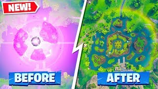 THE CUBE EVENT SECRET YOU DONT KNOW ABOUT in FORTNITE BATTLE ROYALE