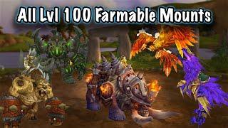 Jessiehealz - All Lvl 100 Instance & World Drop Mounts Farming Guide (WoD)