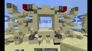 Compact 4x4 door, 288 blocks! Thumbnail
