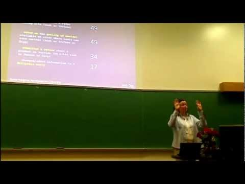"""Eszter Hargittai - """"The Implications of Digital Inequality for Internet Research"""" - SSW12"""