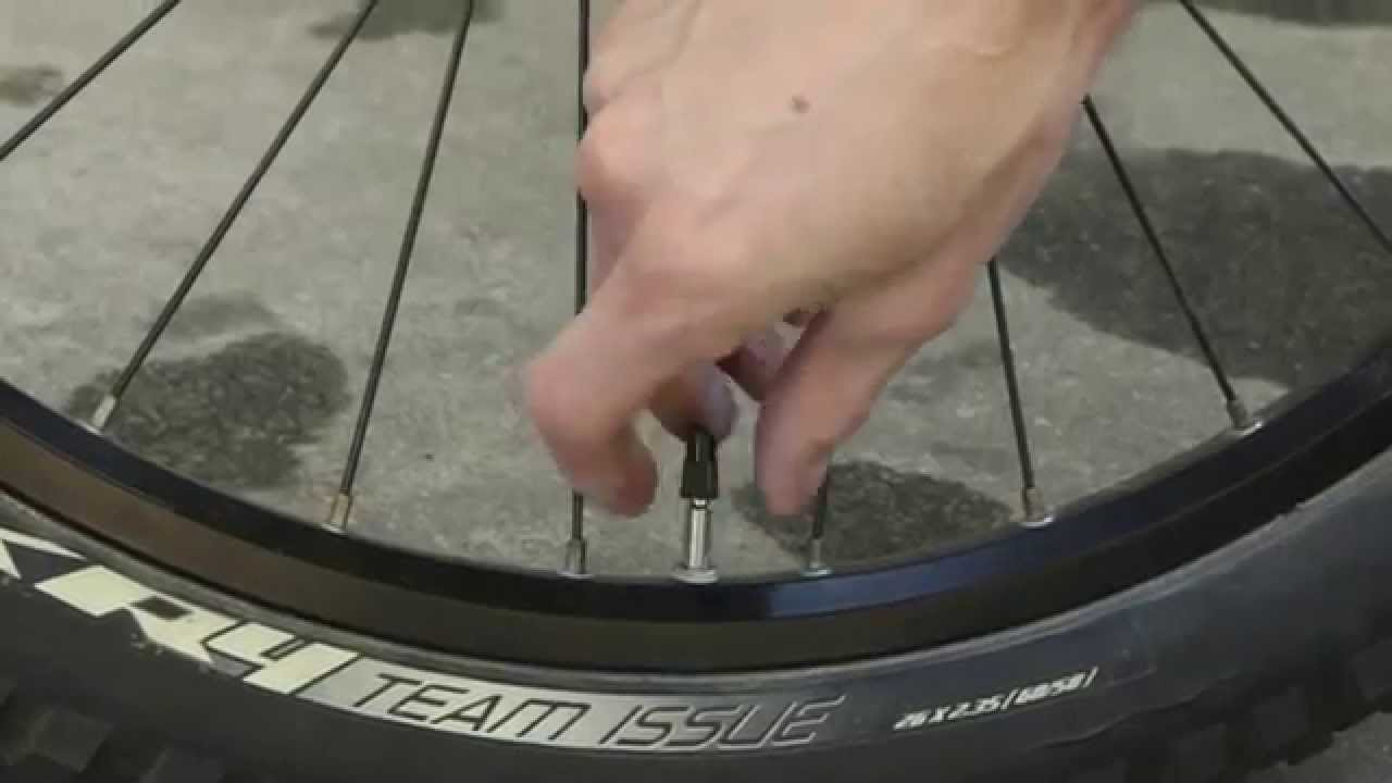 How To Pump Up Inflate Bike Tires With A Presta Valve Youtube