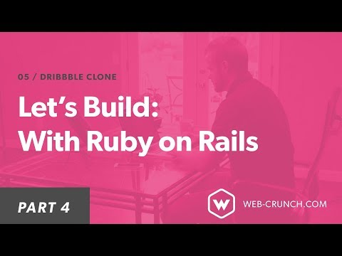 Let's Build: With Ruby on Rails - Dribbble Clone - DEV Community