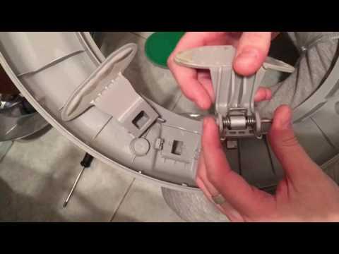 Как починить защелку на стиральной машине