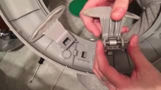 замена сломаной ручки в стиральной машине