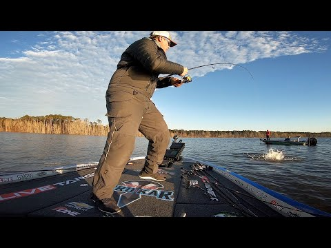 My BIGGEST Bass Ever in a Tournament! FLW Tour Sam Rayburn Mp3