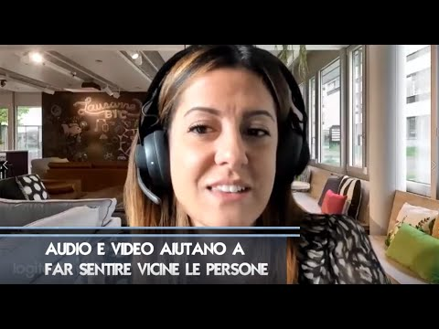 Audio e video aiutano a far sentire vicine le persone